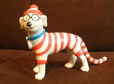 Waldo Woof (Where's Waldo Pet Dog Woof Bendable PVC Figure 1991)