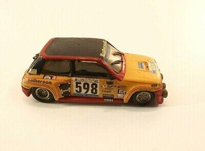 Mini Racing 0040 Renault 5 Turbo Gr5- #598 Frequelin Giro Italia Kit monté 1/43