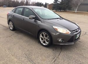 2012 Ford Focus SEL - Fresh Safety - $9000