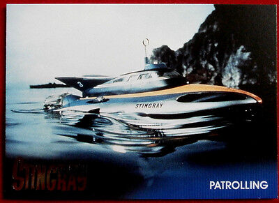 STINGRAY - Foil Chase Card #F3 - PATROLLING - GERRY ANDERSON COLLECTION 2017