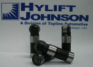 Lifter Set US MFG Steel Hylift Johnson Topline lifters fit Harley Evo 1984-99