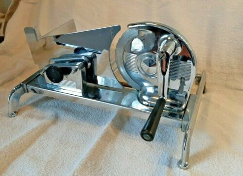 VINTAGE MEAT SLICER INTERNATIONAL APPLIANCE CORP BROOKLYN-NY MANUAL HAND CRANKED