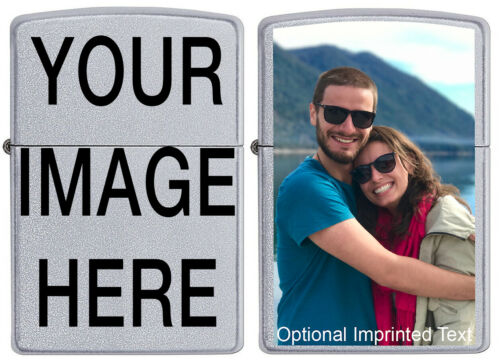 Customize this Zippo Lighter with YOUR IMAGE or Company Logo! Great Gift Idea!