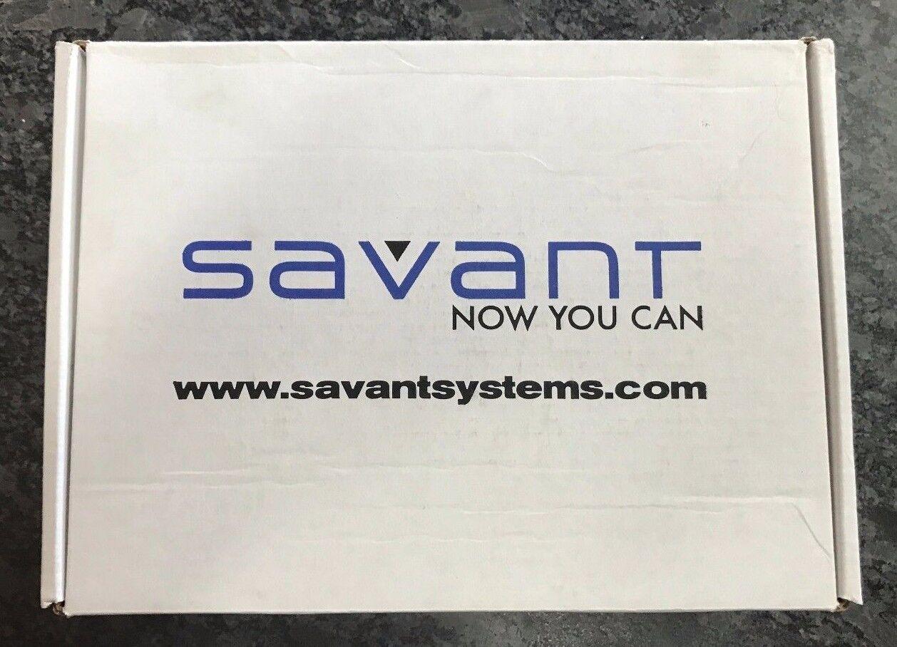 Savant WCC-206BB1-00  Wireless Circa Controller 2 Gang 6 Button Black NEW