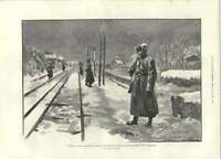 1894 Russian Military Guarding Railway Line Moscow St Petersburg -  - ebay.co.uk