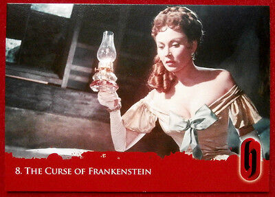 HAMMER HORROR - Series Two - Card #08 - The Curse of Frankenstein - Strictly Ink