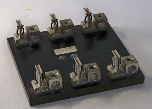 62 003 Gould 200 amp 600 volt 3 pole fuse block