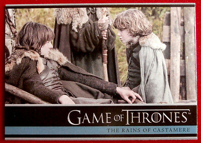 GAME OF THRONES - THE RAINS OF CASTAMERE - Season 3 Card #26 - Rittenhouse 2014