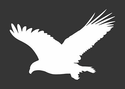 American Eagle Bird #338 - Die Cut Vinyl Window Decal/Sticker for Car/Truck