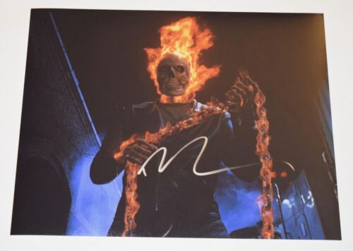 Nicolas Cage Signed Autographed 11x14 Photo Face/Off Ghost Rider COA