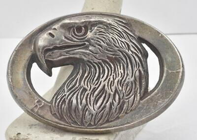 Used, Vintage Sterling silver 3 Dimensional Eagle Hallmarked 1978 Belt Buckle Designer for sale  Boca Raton