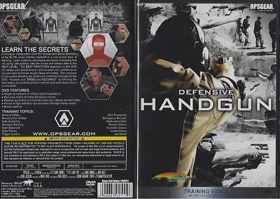 Defensive Handgun Training Instruction Learn the Secrets Best Practices DVD