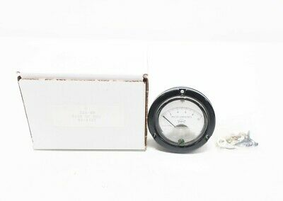 Triplett 221-hr 0-10um Dc Microamperes Panel Meter Ammeter