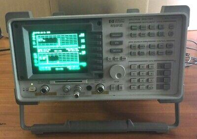 Hp 8591e Spectrum Analyzer Wopt 1 7550 Ohm Catv Cable Tv 441 11 102