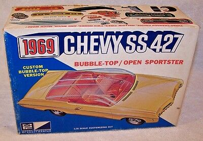 Vintage MPC 1968 Chevy SS 427 Impala Convertible Model Kit! Sweet!