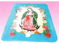 Coco Guadalupe Virgin Mary Baby Mink Blanket