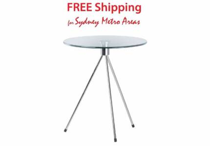Glass chrome side table gumtree australia free local for Coffee tables joondalup