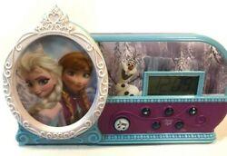 Disney Frozen Night Glow Let It Go Alarm Clock, Elsa, Anna, Sings & Lights Up