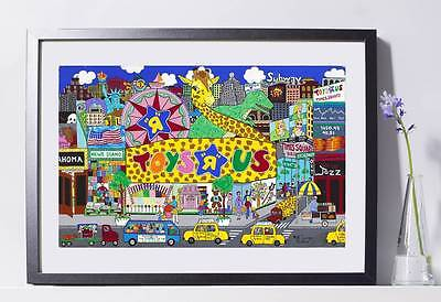 "Toys R Us Store Art Reproduction 8x10""  Pat Singer's New York - Home Decor"