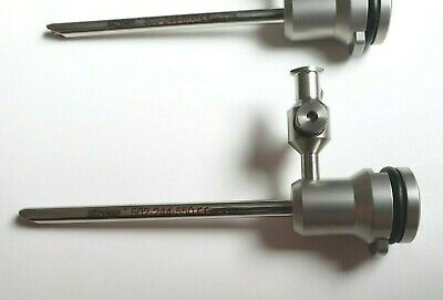 Stryker 502-244-550 Arthroscope 4.0mm Cannula With 1 Fixed Stopcock