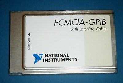 Ni Pcmcia-gpib Card Latching Gpib Controller National Instruments Tested