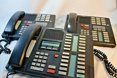 Nortel Meridian Phone Norstar M7324 9603 Business Desk Phone Lot Of 3