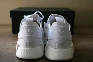Adidas NMD_R1 Triple White US10 NEVER WORN Mandurah Mandurah Area Preview