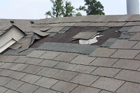 Matching shingle repairs and other roofing services $100!
