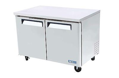 Turbo Air 48 Under Counter Stainless 12 Cu.ft Freezer Muf-48