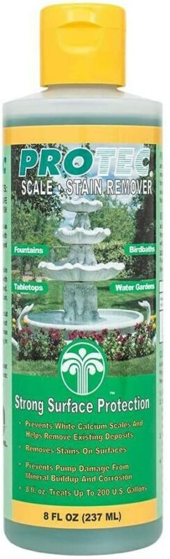 EasyCare Protec 60008 8 oz Fountain Scale-Stain Inhibitor/Remover