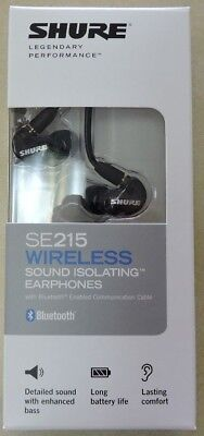 Shure SE215 Wireless Sound Isolating Earphones Bluetooth