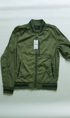 GU UNISEX Fashion/Casual/Field Jacket/Wind breaker/Water Resistant/Light/Khaki/S