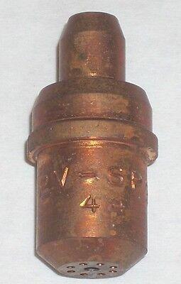 2v-sp-2-56 Mapp Propylene Gas Cutting Torch Tip Fits Large Victor Short Stub