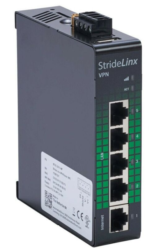 SE-SL3011-WF StrideLinx Pro industrial VPN router
