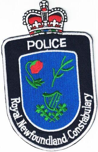 Royal Newfoundland Constabulary Canada Police Patch Canada