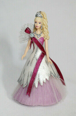 Hallmark Mattel 2005 Holiday Barbie Ornament. Preowned.