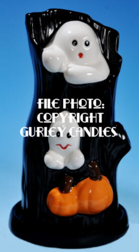 "Gurley  ""Saf-T-Glo""  Candle Lamp - Haunted Hollow"