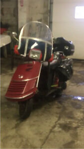 Looking for parts or parts bike. 1985 Honda elite