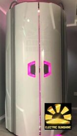 Luxura V5 White Edition sunbed (UK- stock) - INSTALATION DELIVERY & TUBES