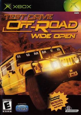 Test Drive Off Road  Wide Open Xbox New Xbox