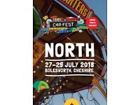 CARFEST NORTH FAMILY CAMPING TICKET