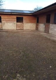 Grazing and Horse Stables