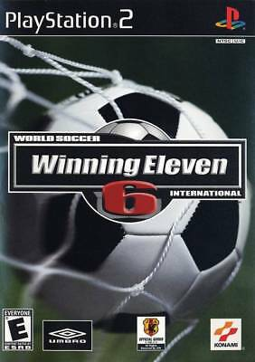 World Soccer Winning Eleven 6 International  2003  New Factory Sealed Usa Ps2