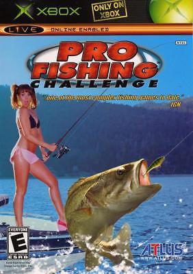 Atlus Software Pro Fishing Challenge Xbox Xbox