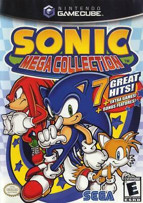 Sonic Mega Collection Nintendo Gamecube Game Complete