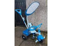 Children's 3 in 1 trike little tykes blue