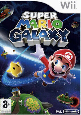 *Super Mario Galaxy - 2007 Nintendo Wii Game 'NEW & SEALED'*