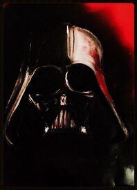 Star Wars art prints of villains