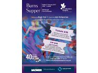 St Columba's Hospice Burns Supper