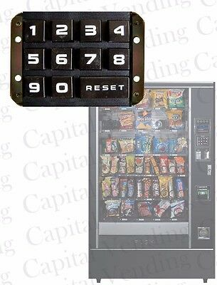 Selection Keypad For Rowe 4900 5900 6800 7800 Snack Candy Vending Machine